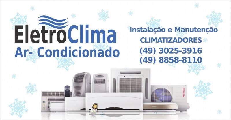 Climatizadores em chapecó